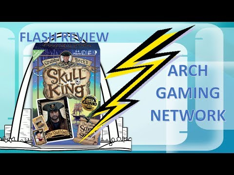 Flash Review: Skull King with Setup and Tutorial