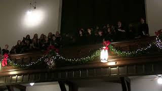 "Mars Hill Academy Christmas Concert 2017: Rhetoric Choir, ""Adam lay ybounden"""