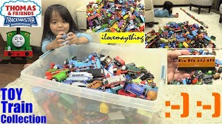 Thomas and Friends TRACKMASTER Collection. Playing Toy Trains with Hulyan and Maya 2018