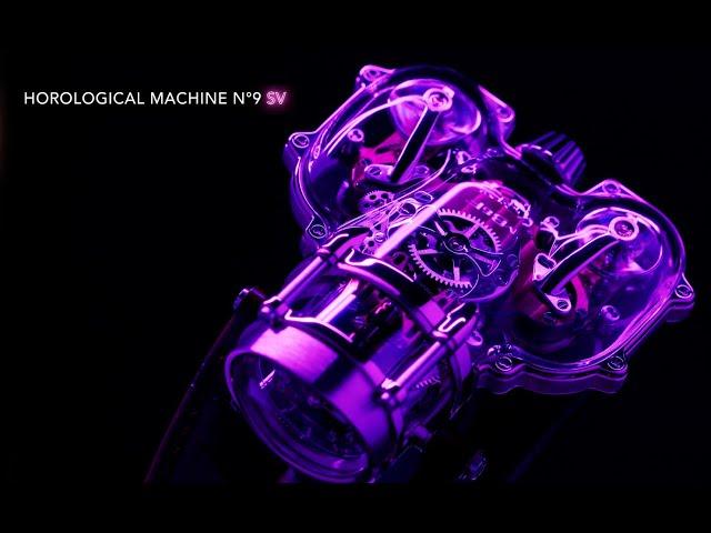 Прозрачные часы HM9 Sapphire Vision предлагают полюбоваться работой сложнейшего механизма