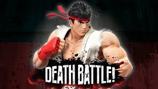 Ryu is Re-used in DEATH BATTLE