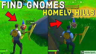 Find Gnomes at Homely Hills All Locations | (Fortnite Chapter 2)