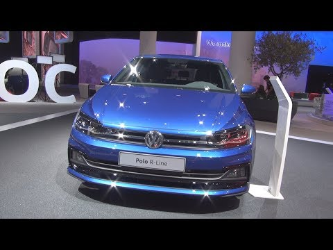volkswagen polo r line 1 0 tsi 115 hp 6mt 2018 exterior and interior. Black Bedroom Furniture Sets. Home Design Ideas