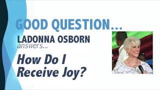 How Do I Receive Joy?