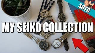 State Of My Seiko Watch Collection (SOTC 2018)