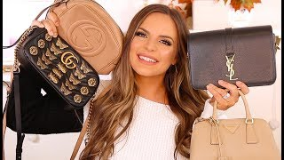 MY LUXURY HANDBAG COLLECTION PT 2 - GUCCI, PRADA  & ITEMS I REGRET BUYING | Casey Holmes