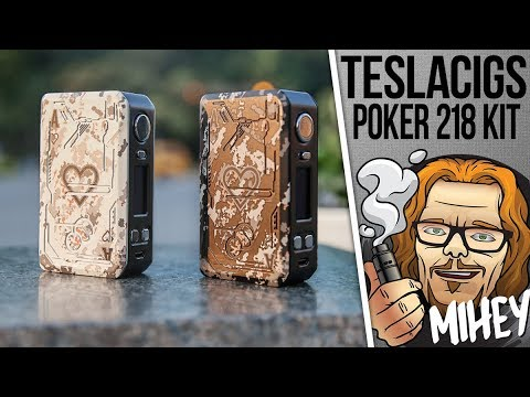 Tesla Poker 218W TC Kit