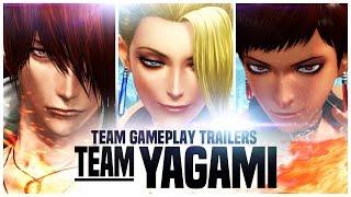 "KOF XIV - Team Gameplay Trailer #2 ""YAGAMI"""