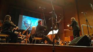 """Neal Acree performs - """" Battle for Azeroth"""" cinematic trailer music live - World premiere"""
