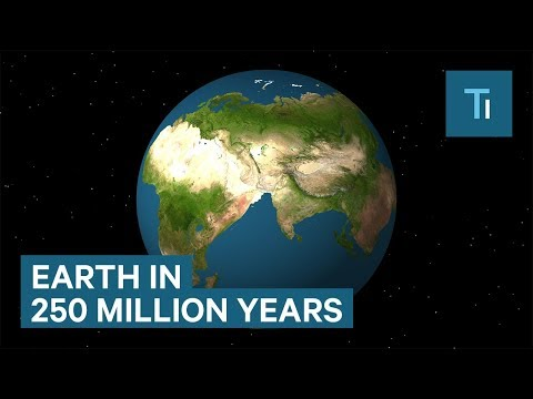 250 Million Years From Now Earth Will Look Very Different