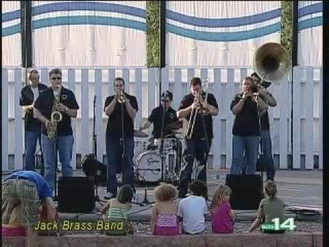 "Jack Brass Band playing ""Ms. Lollipop"""