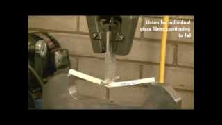 Composite Beam - Long span length 3 point bend test