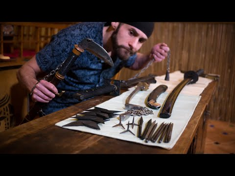 10 Ninja Weapons (In Real Life) Lords of the Blades Ep.2