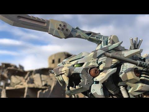 宛如真實戰爭場面!以 ZOIDS 玩具拍攝的特攝影像 ZOIDS WILD BATTLE WARS「ZOIDS WILD Eastern Front」