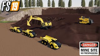 FS19 MOVE TO NEW MINE YUKON RIVER VALLEY MAP FARMING SIMULATOR 19 MINING GAMEPLAY