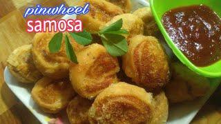 Diwali special  pinwheel samosa recipe, potato snacks recipes,aloo ke snacks,samosa recipe,