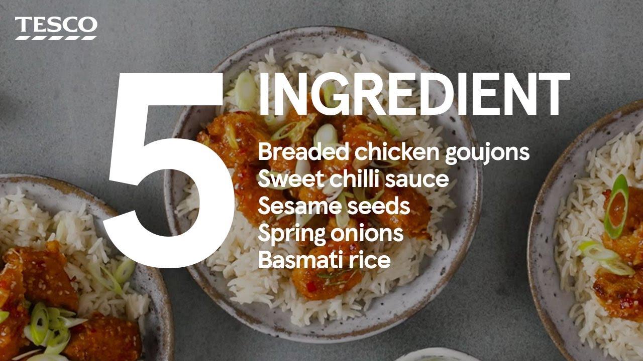 5-ingredient sweet chilli chicken