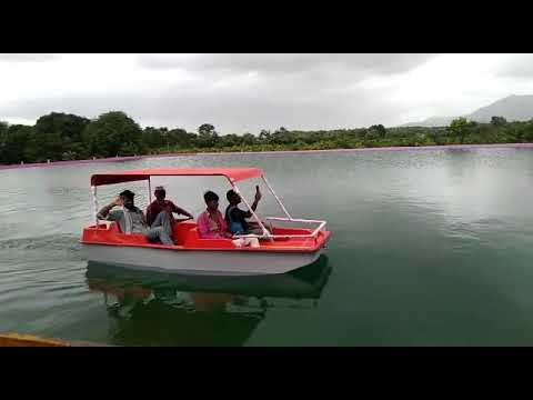 FRP Paddle Boat Four Seater