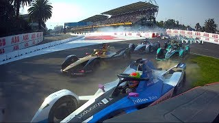 Electrifying finish to ABB Formula E race weekend in Mexico City