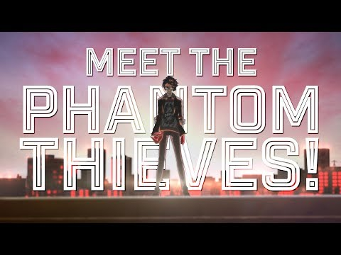 Meet The Phantom Thieves