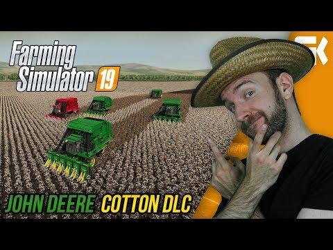 ZKOUŠÍME NOVÉ JOHN DEERE COTTON DLC | Farming Simulator 19