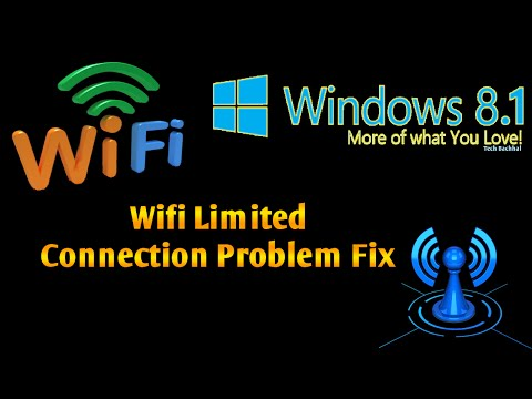 Video Windows 8.1 Wifi Limited Connection Problem Fix - 4 Ways