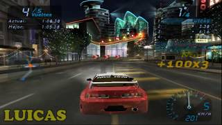 NEED FOR SPEED UNDERGROUND TOYOTA CELICA OLYMPIC SQUARE GAMEPLAY HD