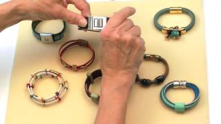 Antelope Beads - Tips For Making Your Own Leather Bracelets
