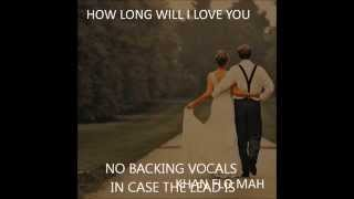 how long will I love you INSTRUMENTAL WEDDING VERSION