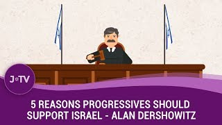 Ever wonder why Liberals seem to hate Israel so much? Professor Alan Dershowitz explains why they've