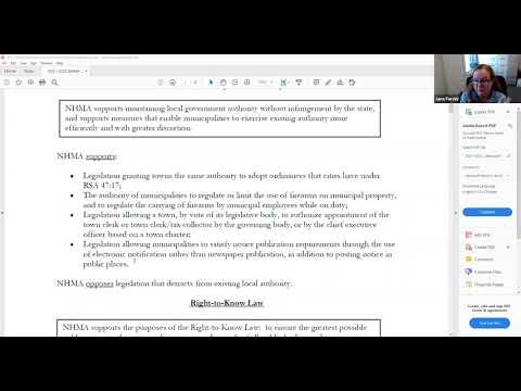8.11.2020 Legislative Subcommittee
