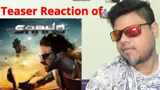 #Saaho Saaho Official Teaser Reaction : Telugu | Prabhas | Shraddha Kapoor |