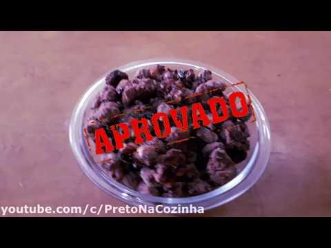 AMENDOIM DE CHOCOLATE (Pralinê) | Preto Na Cozinha