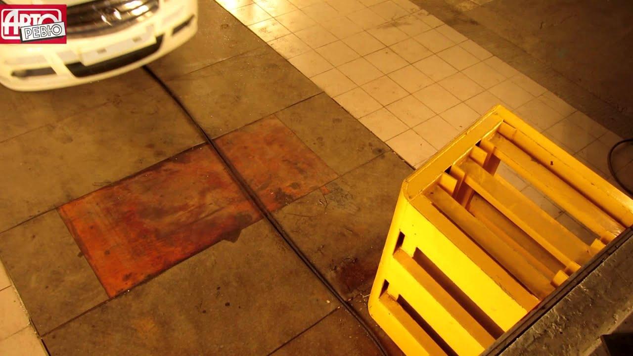 ARCAP Страховой  краш-тест Nissan Almera на скорости 15 км/ч