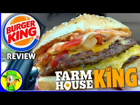 Burger King® | Farmhouse King™ Review! 🍔👑🍳