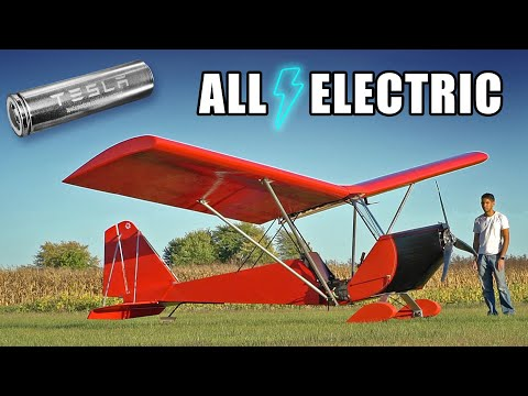 Building an Electric Airplane at Home