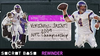 Brett Favre's final shot at glory deserves a deep rewind | Saints Vikings 2009 NFC Championship thumbnail