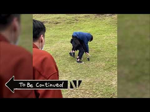 熊班長青青草原上玩耍