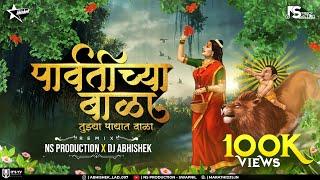 Parvatichya Bala Ganpati Song DJ Remix | Ganpati Maza Nachat Aala DJ | NS Production | DJ Abhishek