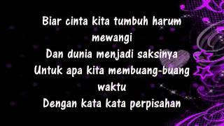 Gambar cover Cinta Kita  Shireen Sungkar ft Teuku Wisnu lyric)