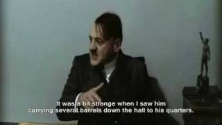 Hitler is informed there is no more water