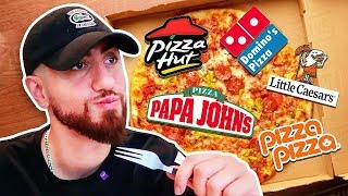 Which Chain Makes The Best Surprise Pizza?!