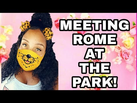 MEETING HUBBY AT THE PARK TO TALK    STAY OR LEAVE?