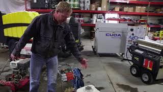 Jantzen Equipment: Cold Water Pressure Washer Comparison