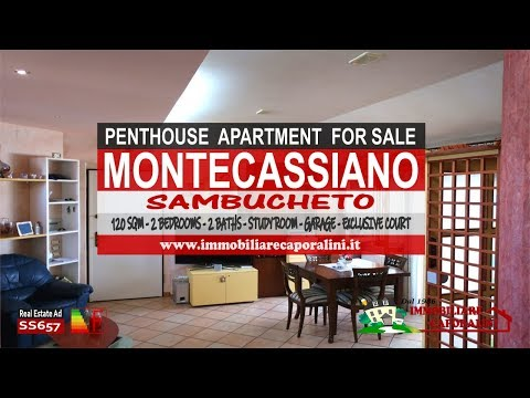 Immobiliare Caporalini real-estate agency - Penthouse/loft - Ad SS657 - Video