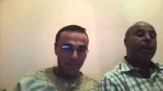 الاستاذ نورالدين مع استاذه الاستاذ احمد حفظه الله (اول استاذ علمني الحروف)