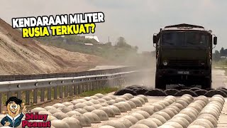 Mainan Baru Rusia, Inilah Kendaraan Militer Super Kuat yang Bikin Mata Melongo