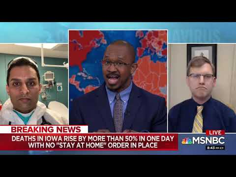 Dr. Sudip Bose talks about COVID-19 in rural areas on MSNBC