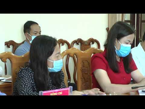 Hội nghị trực tuyến toàn tỉnh về phòng, chống dịch bệnh Covit 19