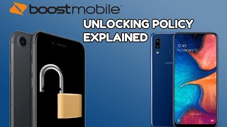 Boost Mobile Phone Unlocking Policy Explained// Unlock Your Phone for Another Carrier